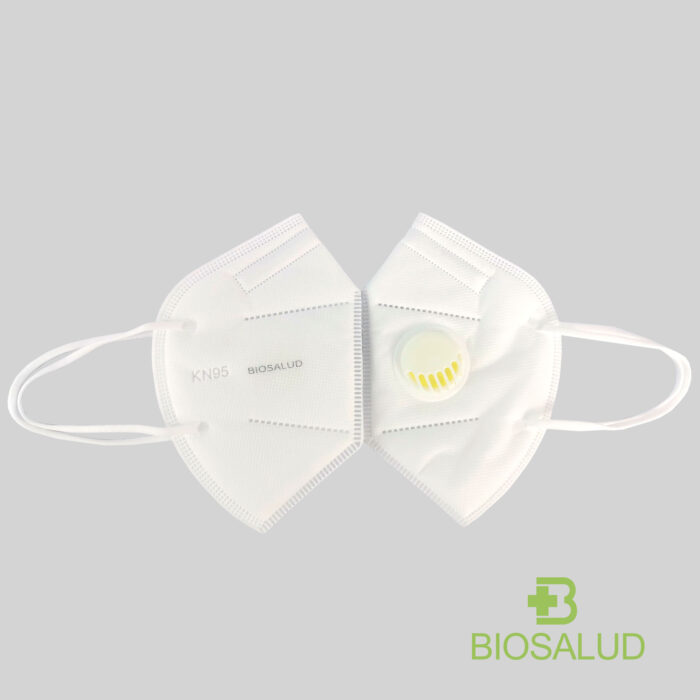KN95 MASK WITH EXHALATION VALVE